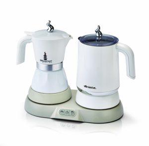 machine à café pas cher Italienne électrique blanc