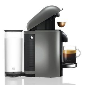 Cafetières Nespresso YY2778FD Vertuo Machine à café Titane