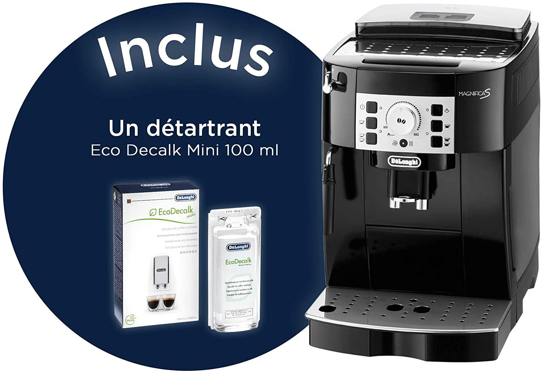 Machine à café avec broyeur delonghi ECAM 22-110.B expresso auto avec broyeur