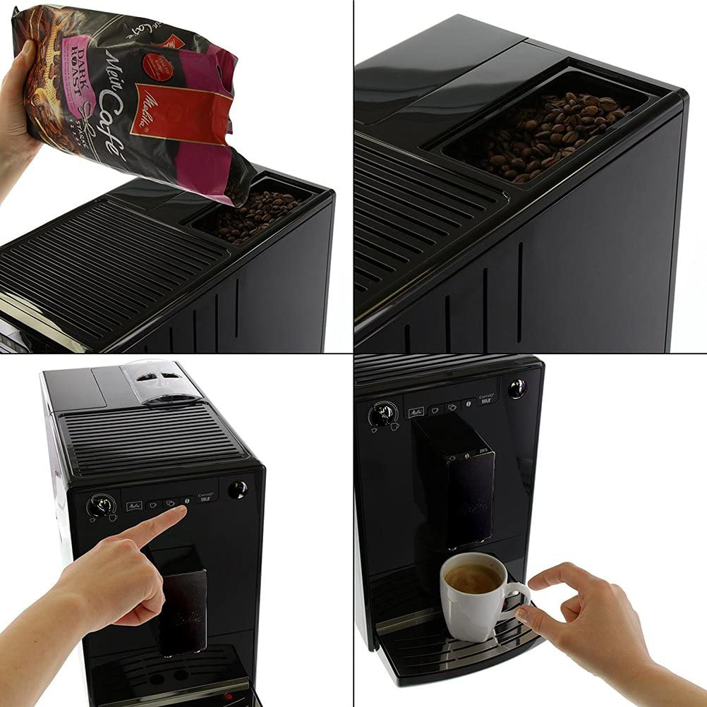 Machine à café avec broyeur melita machine à café auto coffeo solo E950-222